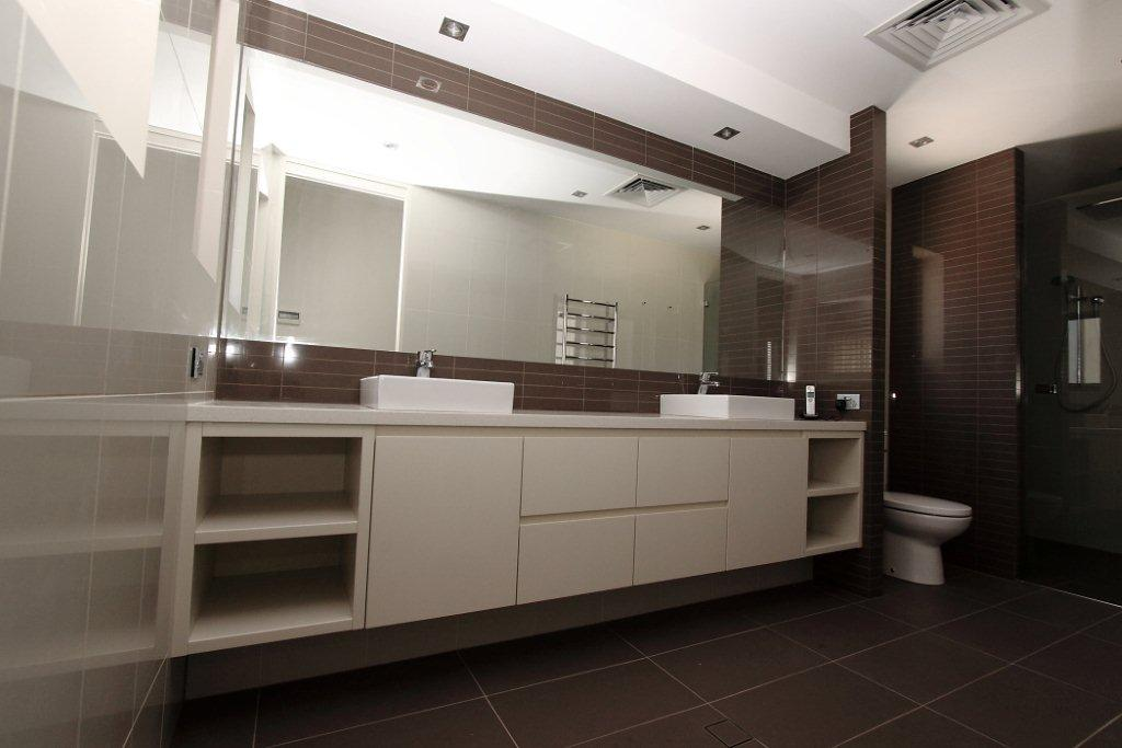Bathrooms can be renovated or replaced.